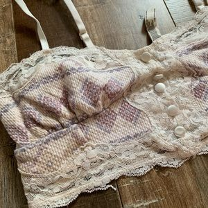 Free People bralette lingerie bra top